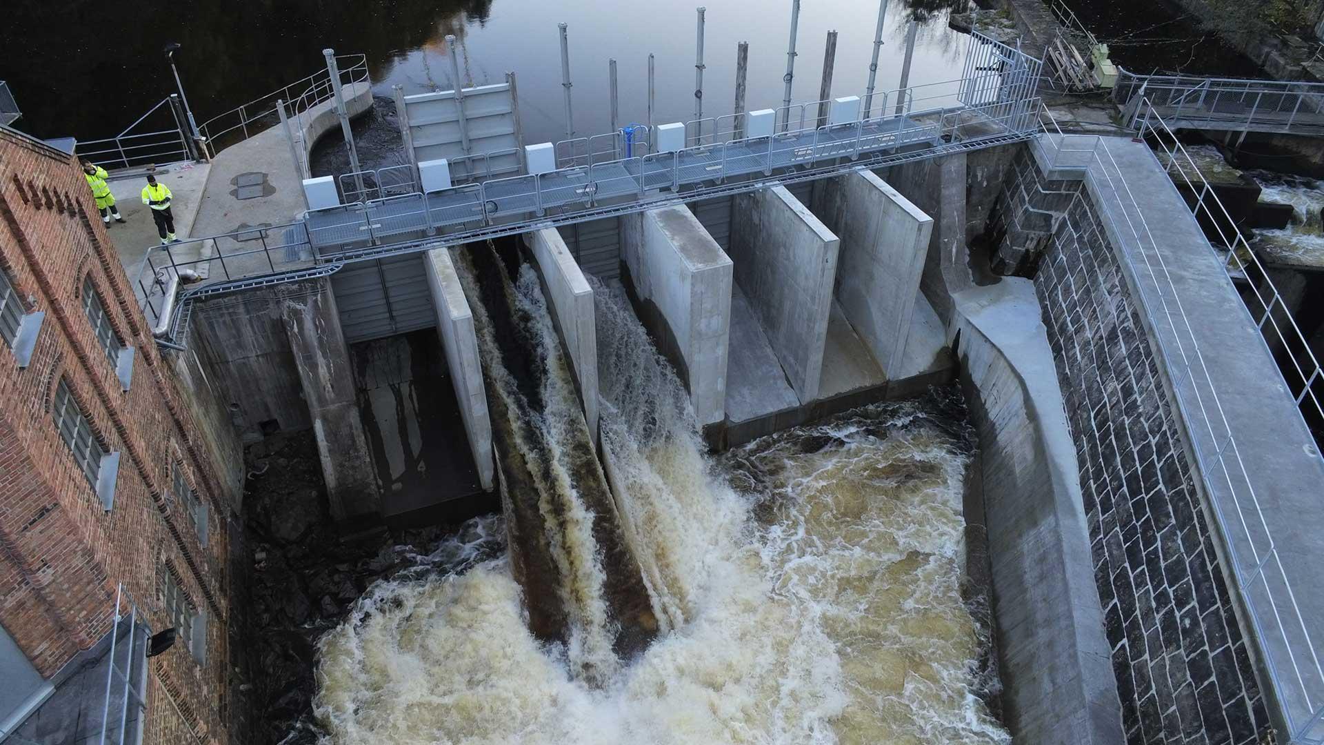 Skonningsfoss dam